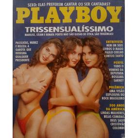 Revista Playboy As Trigêmeas - Raro Para Colecionadores