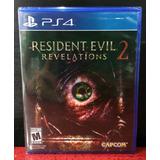 Resident Evil Revelations 2 Juego Ps4 Fisico Nuevo (abierto)