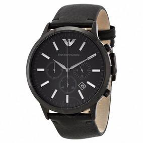 Relógio Luxo Emporio Armani Ar2461 Couro Novo Xs00701