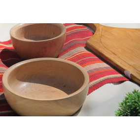 Bowls De Madera 20 Cm Ensaladera De Madera Cuencos Del Lago