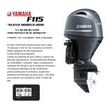 New Yamaha 115 Hp 4 Tiempos Entrega Inmediata