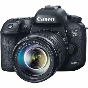 Câmera Canon Eos 7d Mark Ii 18-135mm Is Stm, 20.2mp, Lcd 3 ,