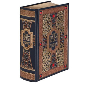 Linda Bíblia The Holy Bible King James Version - Ilustrada