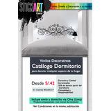 Vinilo Decorativo / Dormitorio / Decoración / Stickers