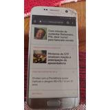 Celular Samsung Galaxy S7 Flat- Tela Trincada