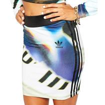 Falda Originals Stripes Skirt Mujer Adidas Ax5999