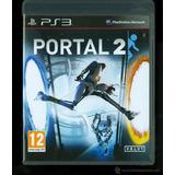 Portal 2 Ps3 En Español (disco + Manual)