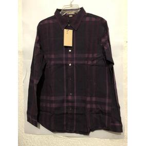 Camisa Burberry Color Morado