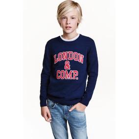 Sweater De Hilo H&m Importado Niño Talle 10