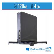 Nano Pc Intel- 4gb  Windows Pro Com Sd128gb