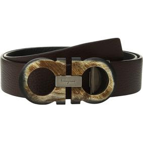 Cinturón Ajustable Doble Salvatore Ferragamo Para Hombres 552c698ed7a