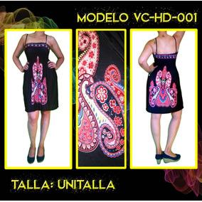 Vestidos Corto Hindú Envío Gratis Vc-hd-001