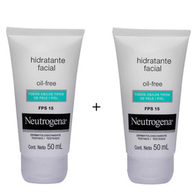 Hidratante Facial Neutrogena Oil Free Fps15 50ml