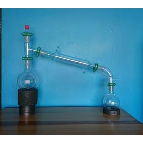 Aparato De Destilacion 24/40 Equipo De Química Laboratorio