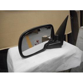 Espejo Izq Chevrolet Pickup 99/06 Cromado Manual S/cont