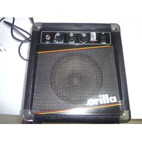 Cubo Caixa Amplificada Guitarra Vintage De 1987 Raridade