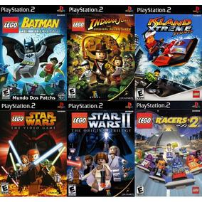 Patch Ps2 - Lego Collection - 6 Jogos ( Frete Grátis )