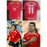 Camiseta De Chile Salas 11 Talla M Brooks Original