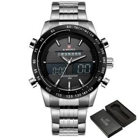 Reloj Naviforce De Lujo Para Hombre Acero Deportivo