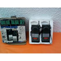 Walkie Talkie Set Marca Gakken Made In Japan Años 70s