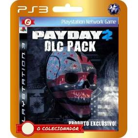 Pacote Com 5 Dlcs Para Payday 2!! (códigos Ps3)