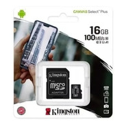 Memoria Micro Sd 16 Gb Kingston Clase 10