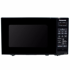 Microondas Panasonic Panel Digital St253 20lts Litros Negro
