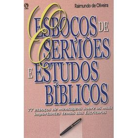 Esboços De Sermões Estudos Bíblicos