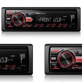 Auto Radio Pioneer Mvh-88ub Media Receiver Mp3 Am Fm Usb