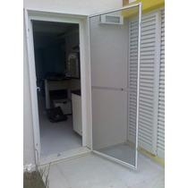 Tela Porta Mosqueteira-porta Mosquiteiro Esquadria Aluminio