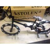 Bici Bmx Stolen Urban Color Negro Matte