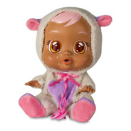 Boneca Crybabies Lammy Com Chupeta - Multikids