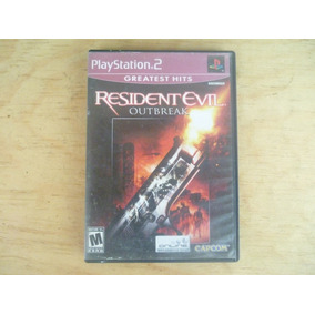 Resident Evil Outbreak Ps2 Pregunta X Precio Rebajado