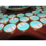 Stickers Monedas De Chocolate Diseños Personalizados Eventos