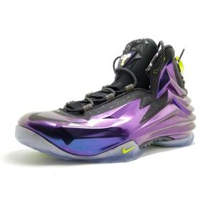 Zapatillas Básquet Nike Color Violeta Oscuro Usado en Mercado Libre