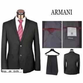 Ternos Slim Armani Hugo Boss E. Zenha Zara E Grifes Fio 180