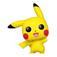 Boneco Funko Pop Anime Pokemon Pikachu Waving 553