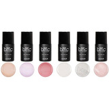 Bmc Super Sweet 6pc Shimmering Sheer Soft Pastel Uv/led Gel