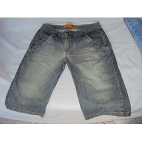 Bermuda Masculina Jeans Carmim Tamanho 46