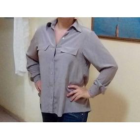 Camisa De Seda Pura