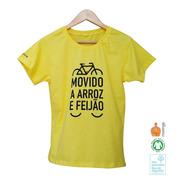 Camiseta Arroz Com Feijão [mod. Femin] 100% Algodão Orgânico