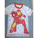 Ropa De Niños De Mickey Avengers Iron Man Capitan America