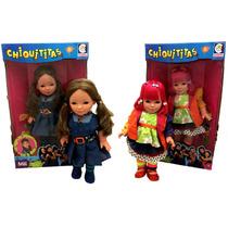 Kit Chiquititas Cotiplás : Boneca Mili + Boneca Laurinha