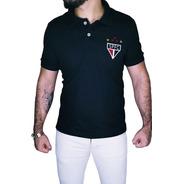 Camisa Polo São Paulo Retrô