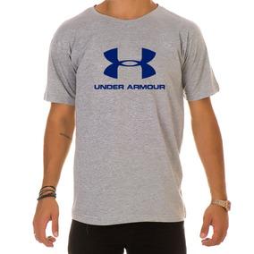 638bbad3bcc Camiseta Under Armour Wordmark - Moletom Masculinas Prateado no ...