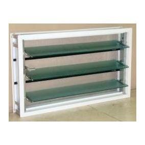 ventiluz aluminio blanco x con vidrio mosquitero