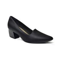 Sapato Basic Bico Fino 744017 Picccadilly - Preto