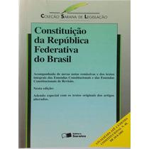Constituição Da República Federativa Do Brasil - Saraiva