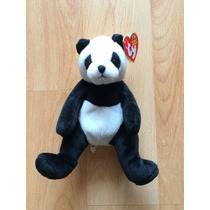 Oso Osito De Peluche Ty Beanie Babies 10 Años Years .