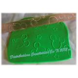 Rodillos Texturizadores De Mickey Para Torta Reposteria